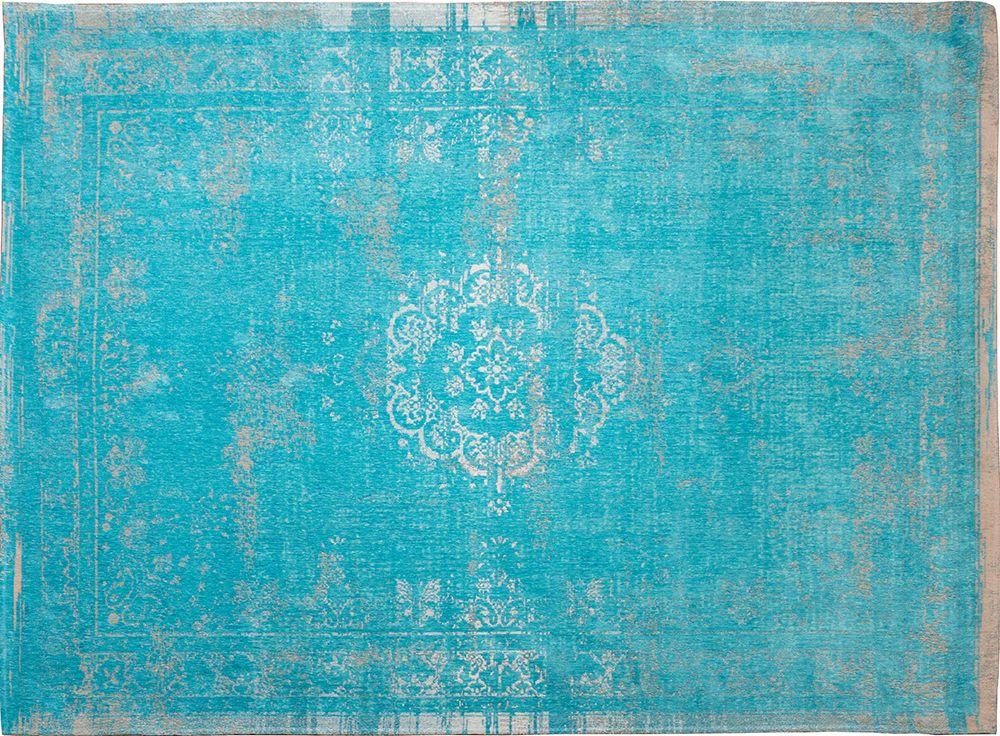 Orientteppich Muster | gefärbt gewebt | Vintage-Teppich Aqua ...