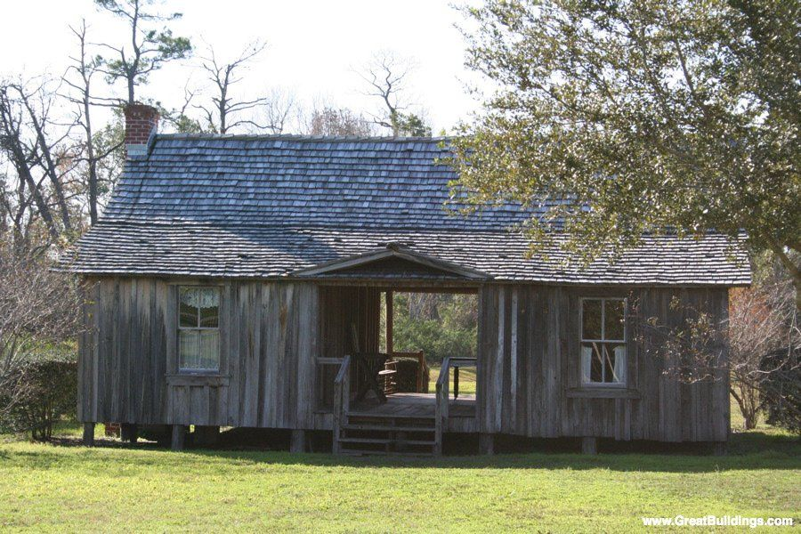 Architectureweek Great Buildings Image Dogtrot House Dog Trot
