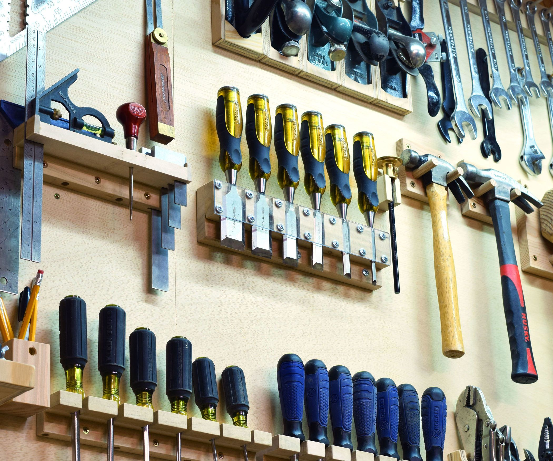 Custom Tool Wall Garage Tools Garage Tool Organization Garage Tool Storage