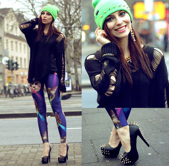 CRAZY CATWANG (by Masha Sedgwick) http://lookbook.nu/look/4593193-CRAZY-CATWANG
