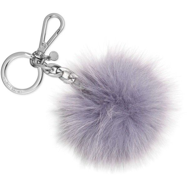 Michael Michael Kors Fur Pom Pom Keychain (325 NOK) ❤ liked on Polyvore featuring accessories, purple, lilac, pom pom key chain, fur pom pom key chain, fob key chain, michael kors and fur key chain