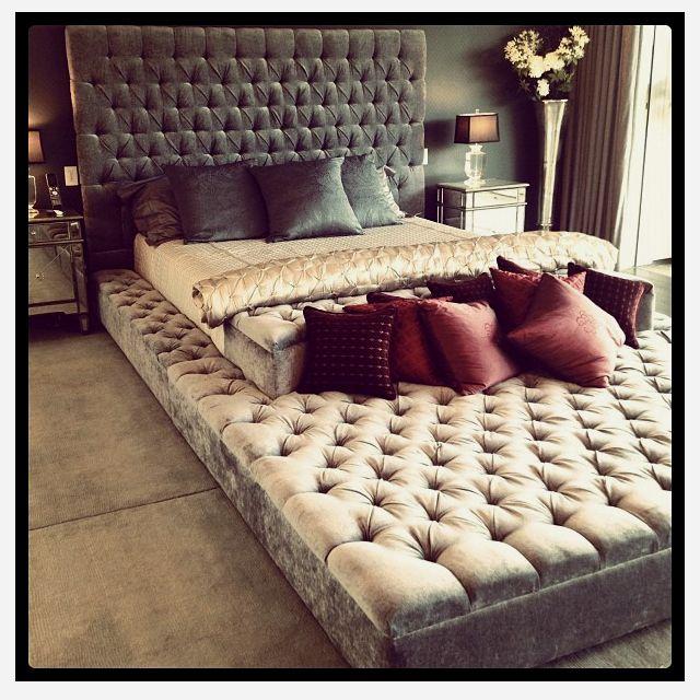 die besten 25 gro e betten ideen auf pinterest veranda. Black Bedroom Furniture Sets. Home Design Ideas