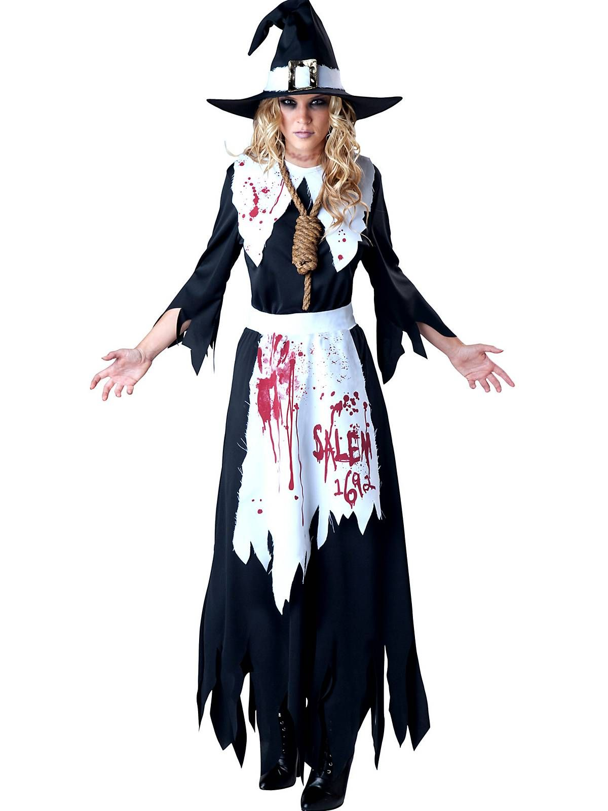1efb4cb40a5 Salem Witch Womens Costume | Witch bunco | Witch costume adult ...