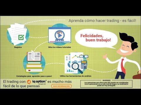 IQOption broker de Opciones binarias Cuenta Demo Español