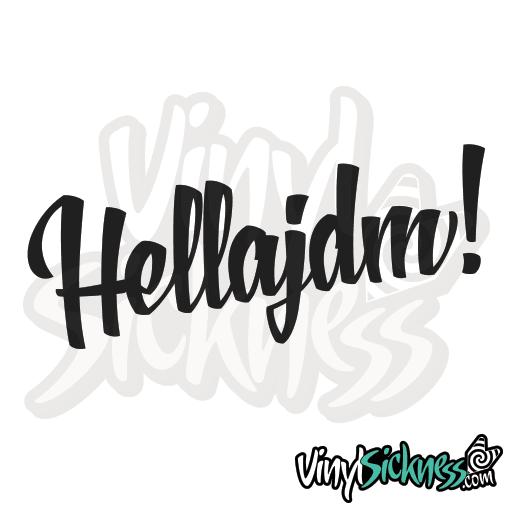 Hella JDM | STICKERS / DECALS | Jdm stickers, Stickers, Jdm