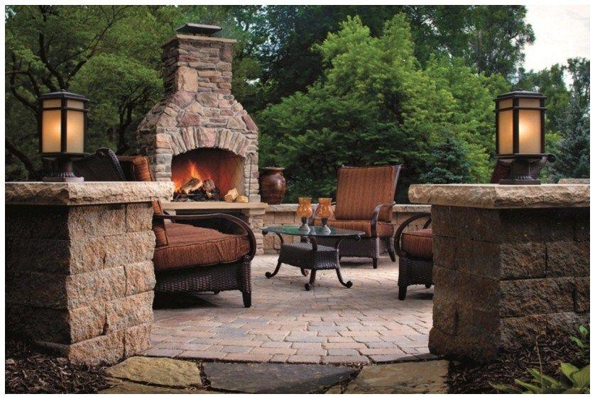 Fire pit backyard designs landscaping ideas pinterest for Fire pit ideas outdoor living