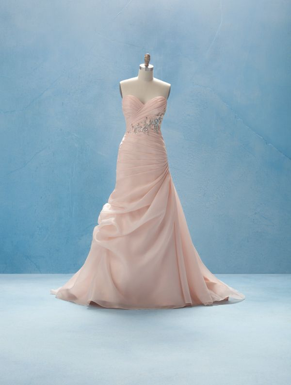 Aurora Wedding Dress #2: True Love Conquers All... Gently draped ...