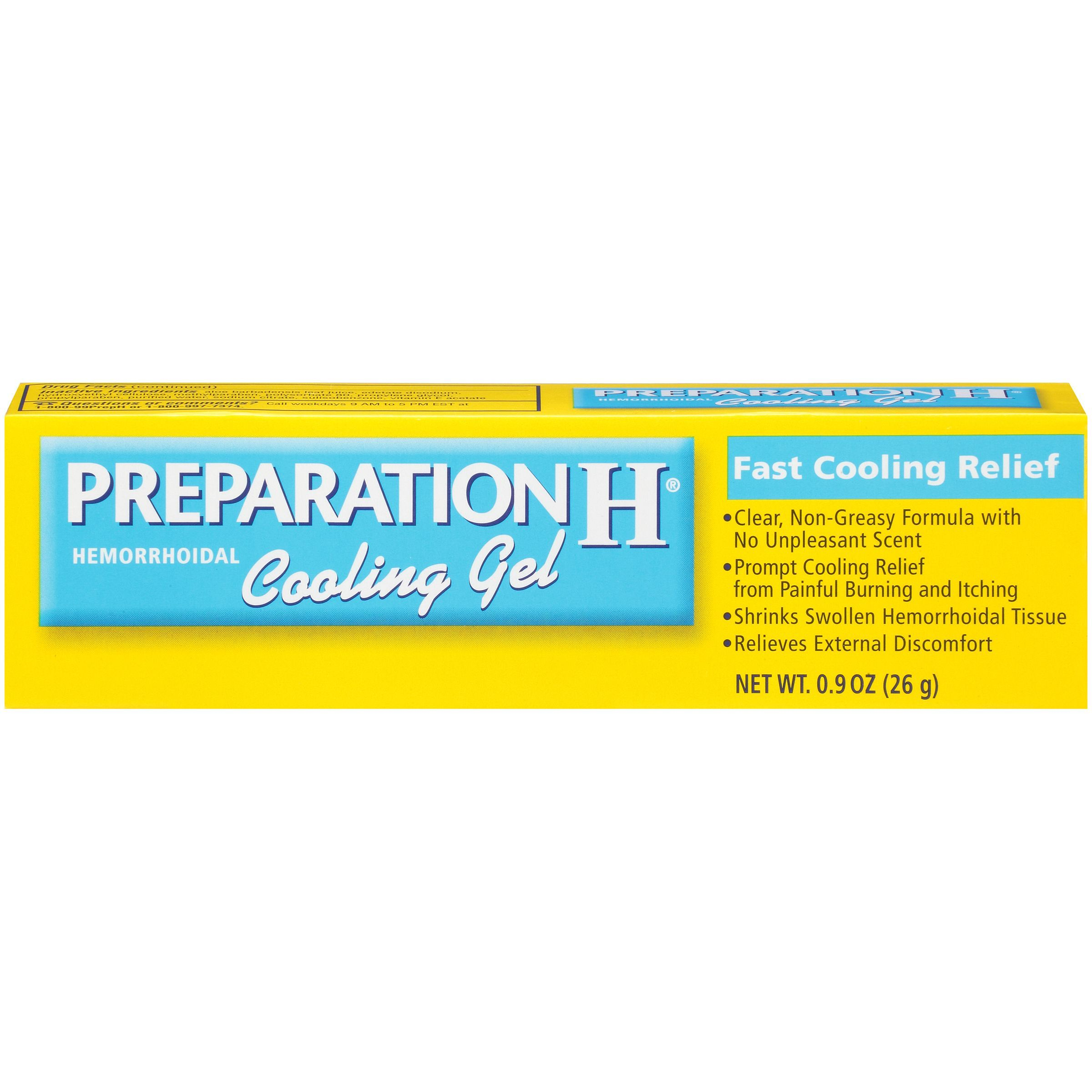Preparation H Hemorrhoidal Cooling Gel With Images Cure For
