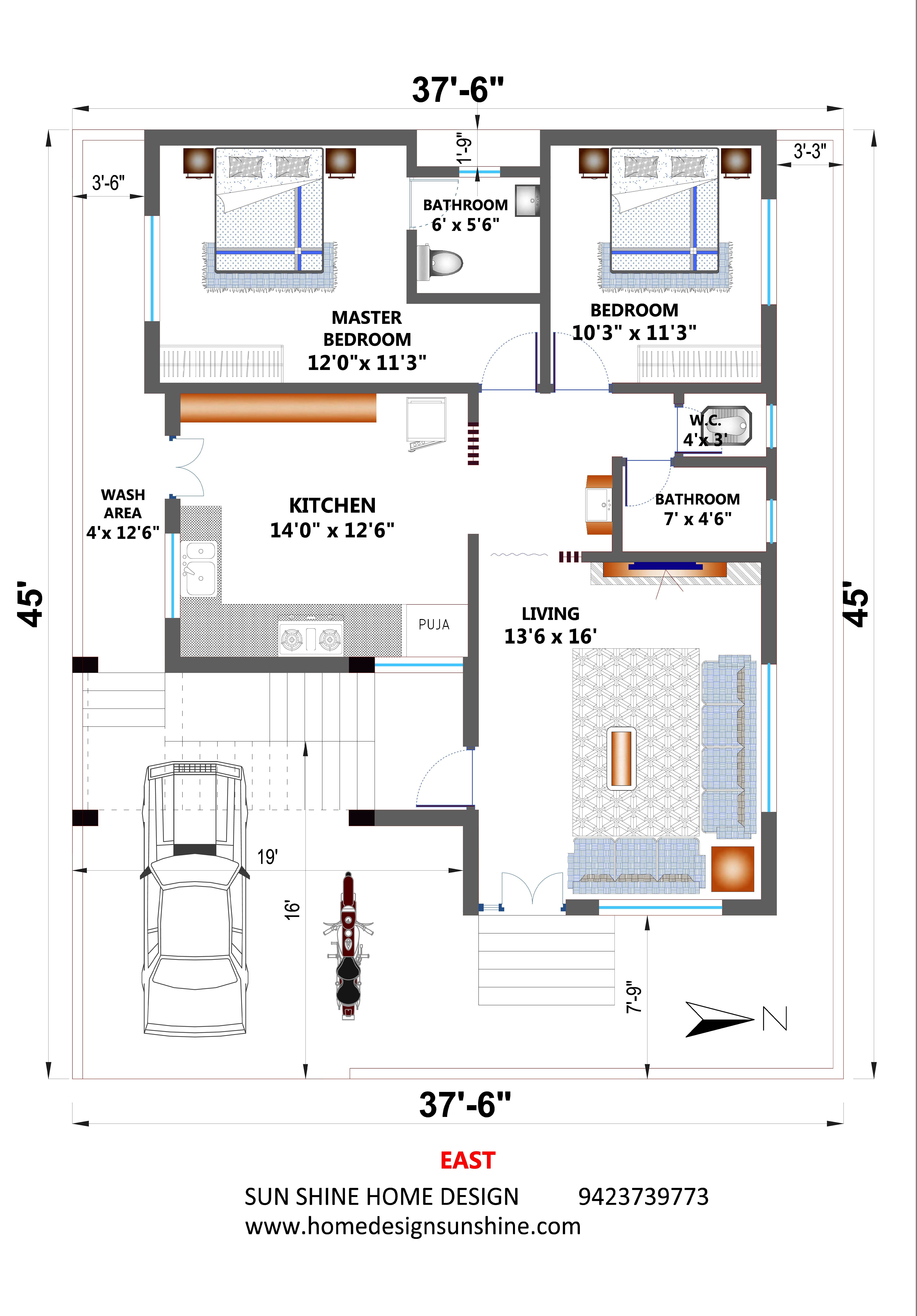Https Youtu Be Ntdym0u4qle 2bhk House Plan Indian House Plans My House Plans