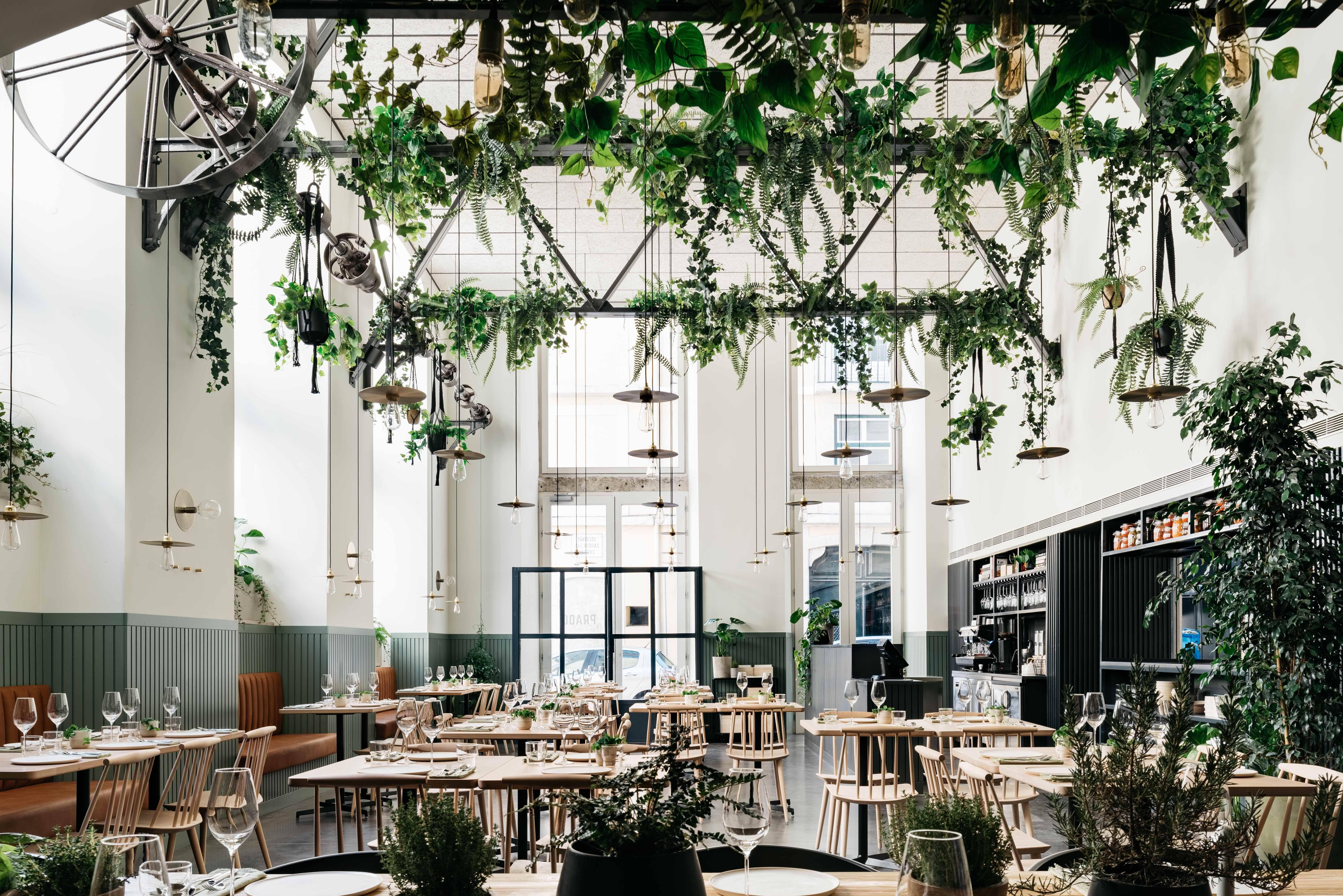 Prado Stylish Nature Inspired Restaurant From Antonio Galapito