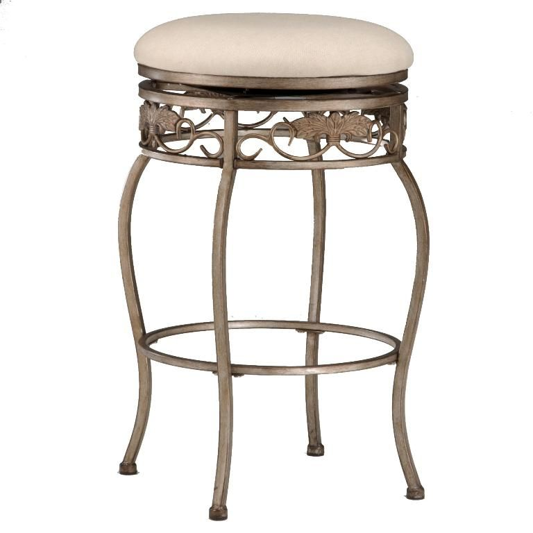 Interior Extraordinary Brown Leather Backless Bar Stools From The