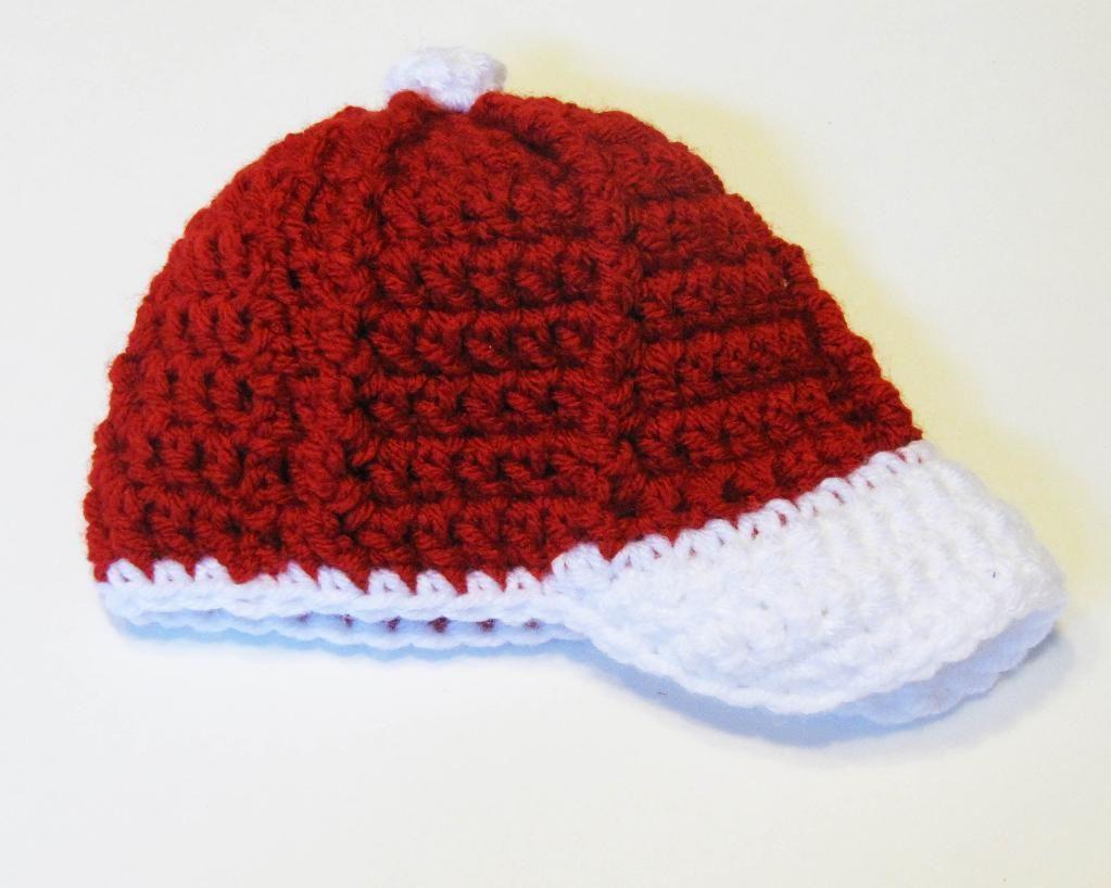d46b07e2e01 Crochet Baseball Cap Pattern