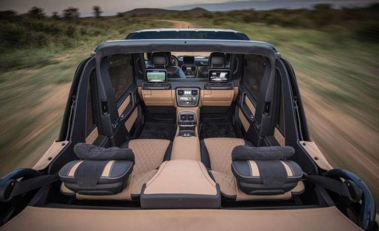 The Mercedes Maybach G650 Landaulet 10 Photos With Images