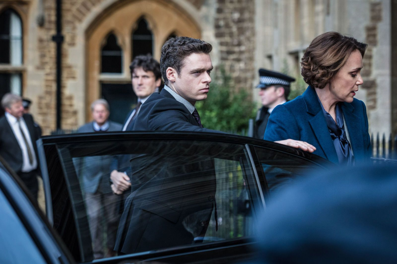 Bodyguard writer told to scrap THAT opening sequence