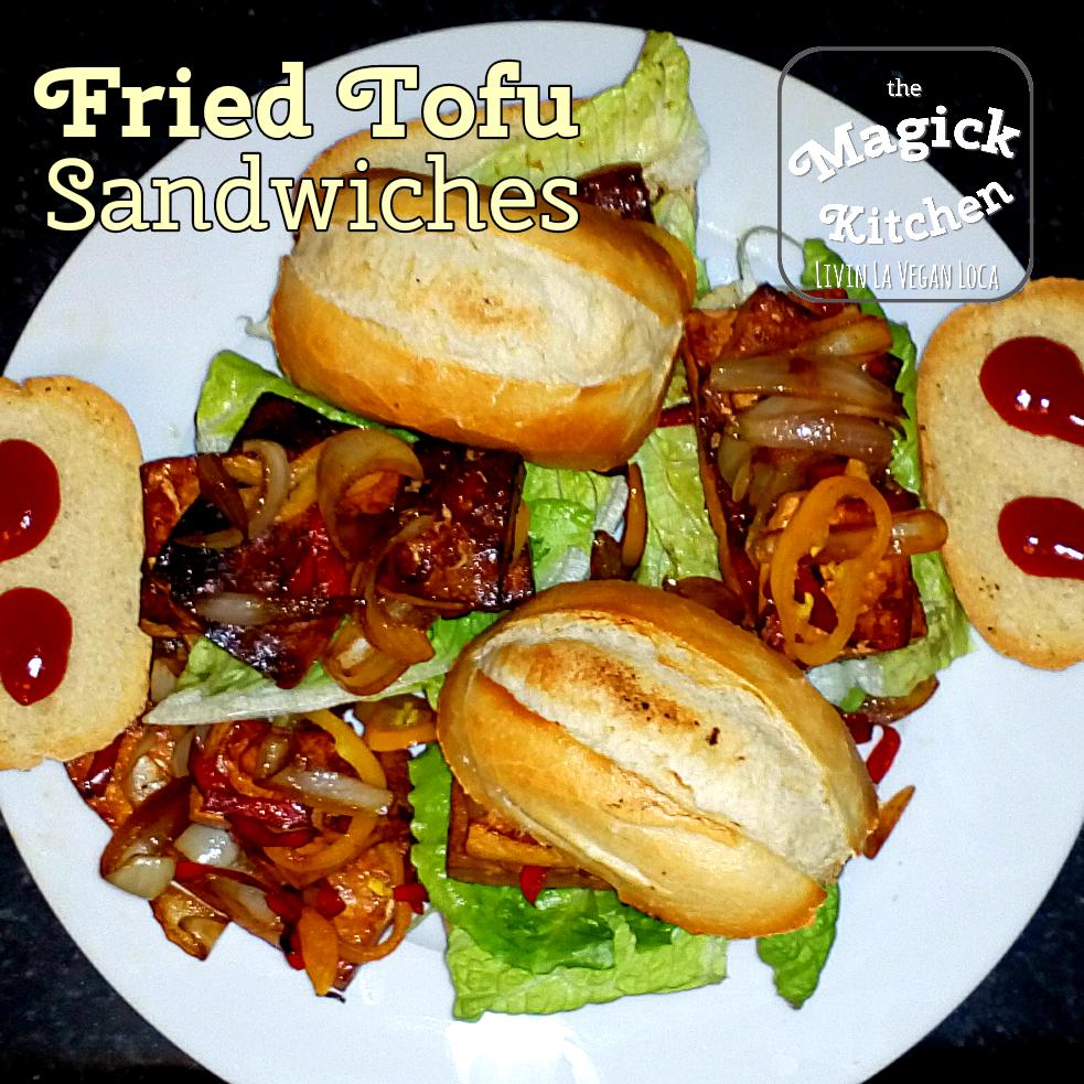 Fried Tofu Sandwich | Rezept