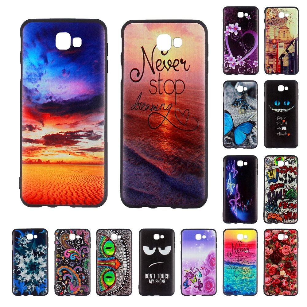 best sneakers 69735 152a3 For Samsung J5 Prime 2016 Silicone Case Cute Cartoon Soft TPU Gel ...