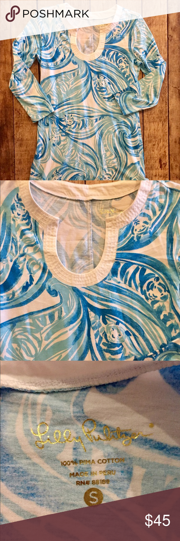 Lilly Pulitzer cotton dress S