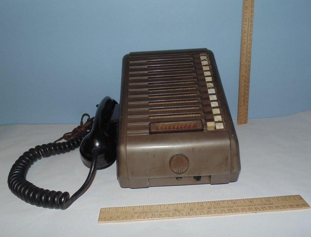 Executone Intercom Base Phone - Vintage Office Equipment - no ... on