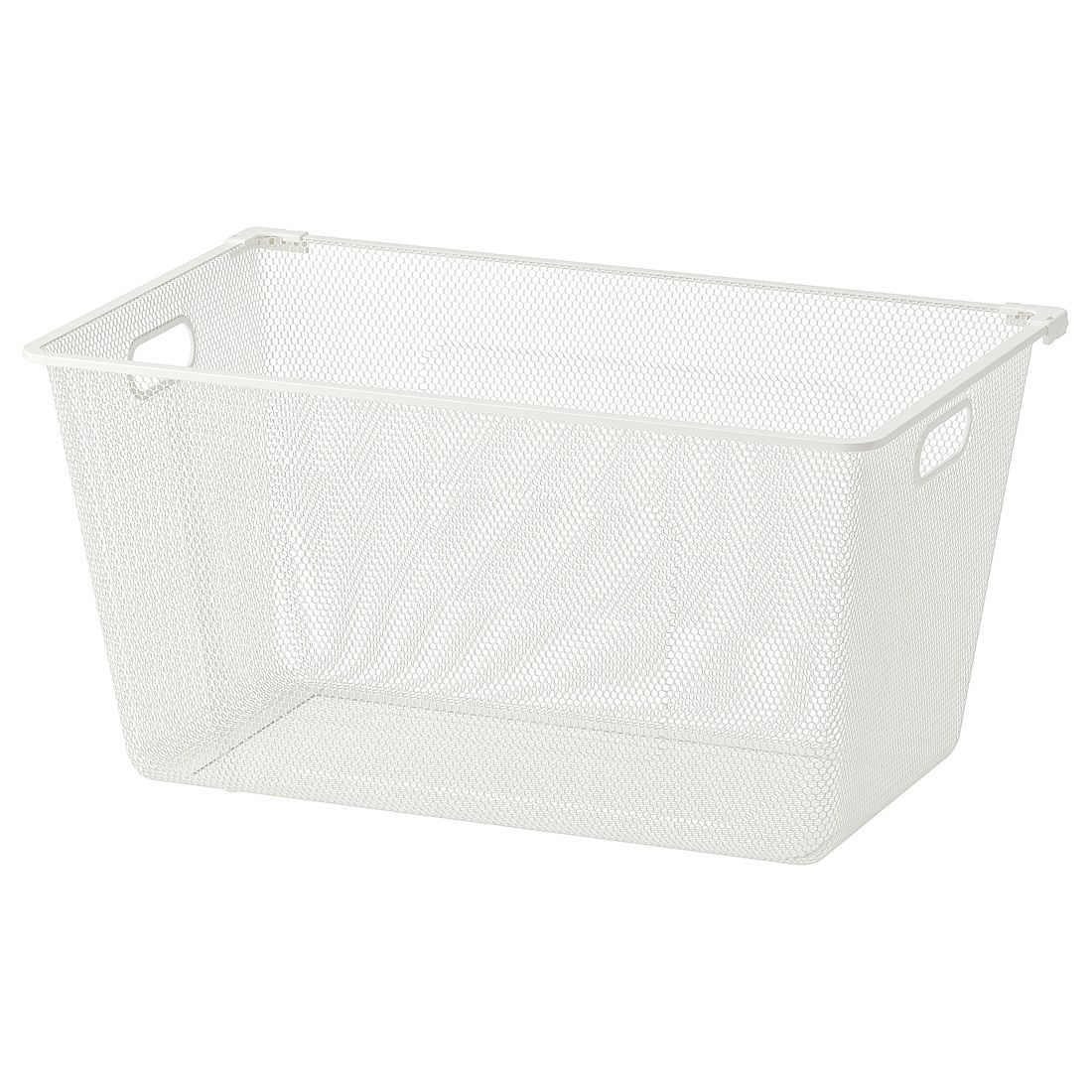 "ALGOT Mesh basket white 15x23 ½x11 ½ "" in 2020 Ikea"