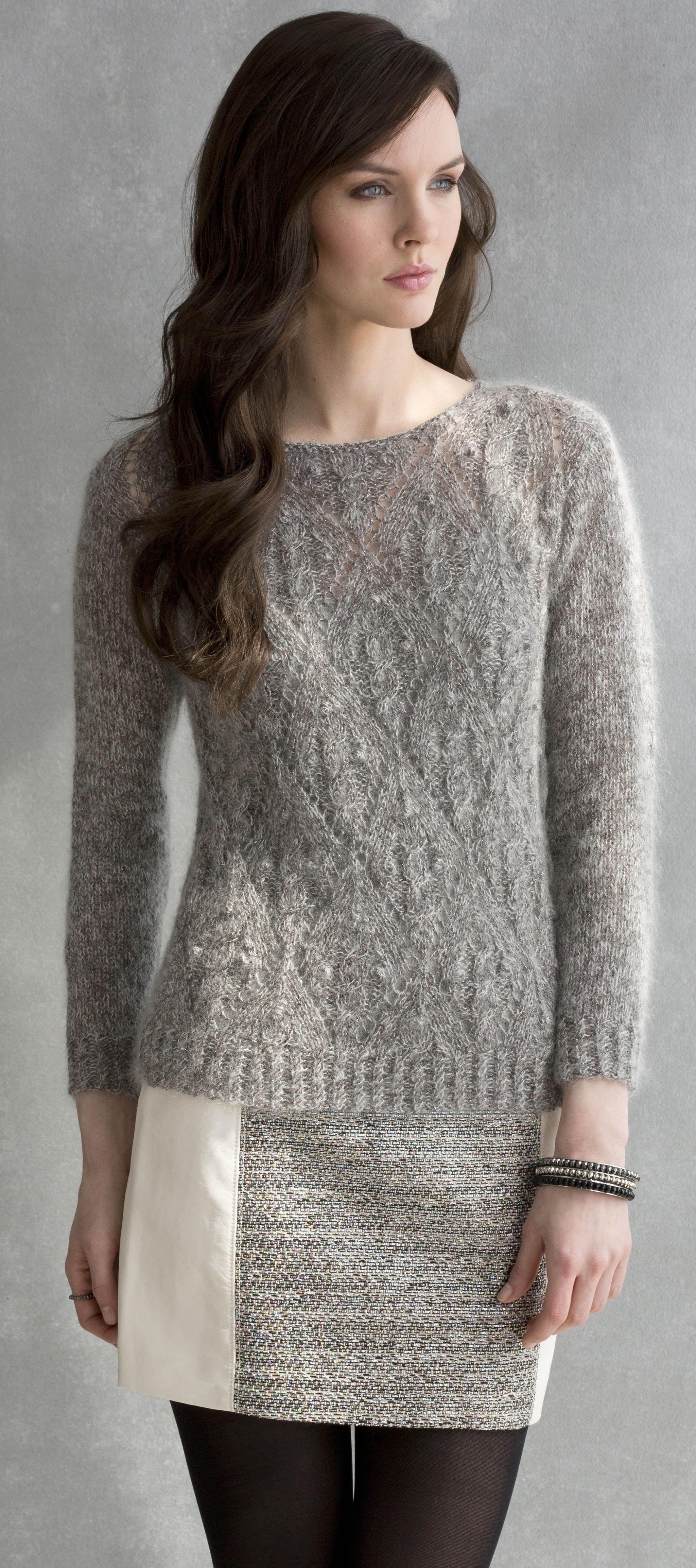 Ivie Pullover in CELINE & LUNA http://tahkistacycharles.com/t ...