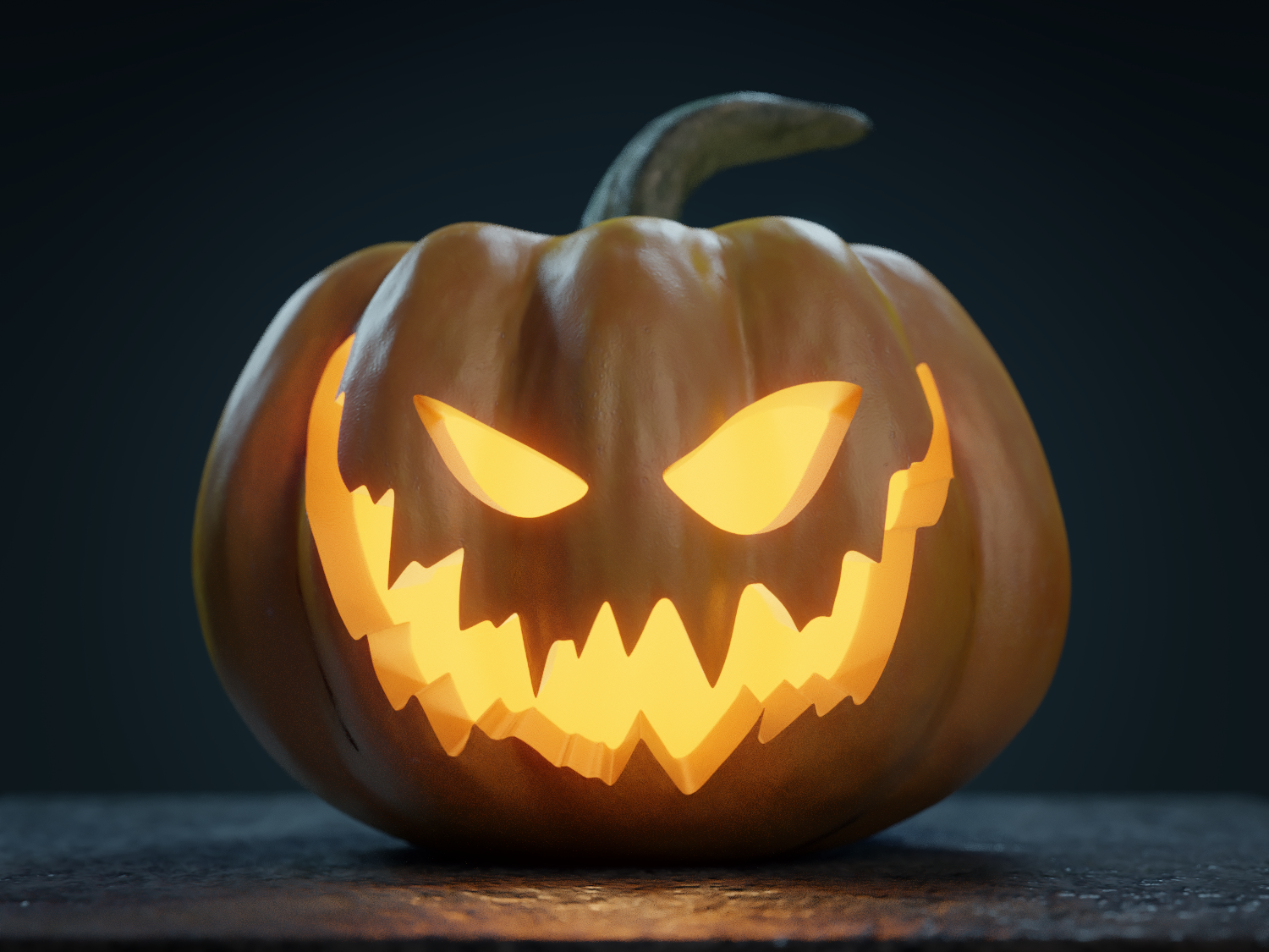 Halloween Pumpkin - Jack-o-lantern by uc9000 | 3DOcean #pumpkindesigns