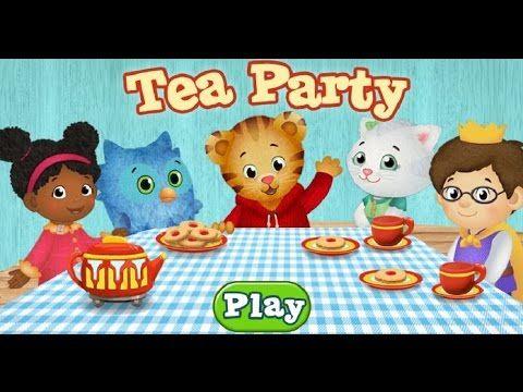 Daniel Tiger\'s Neighborhood Tea Party Cartoon Animation PBS Kids ...