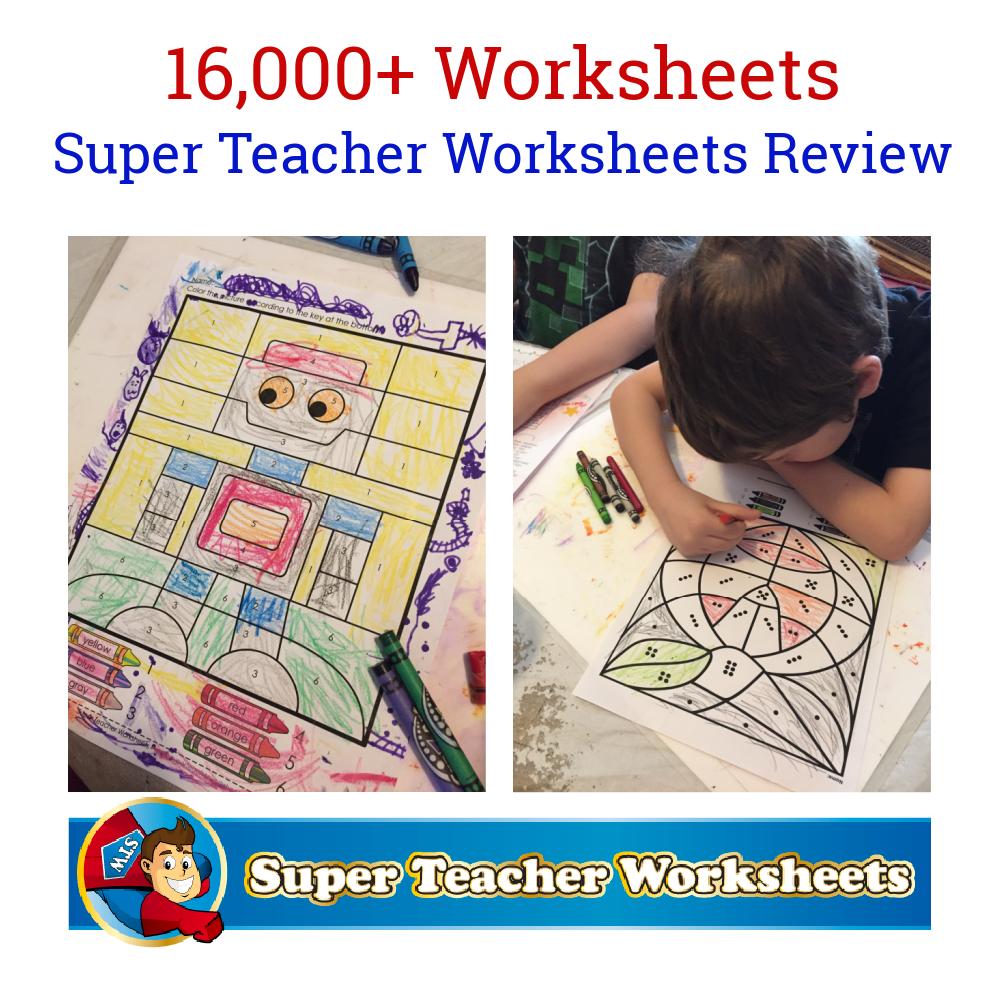Super Teacher Worksheets Review Super Teacher Worksheets Teacher Worksheets Homeschool Lesson [ 1000 x 1000 Pixel ]