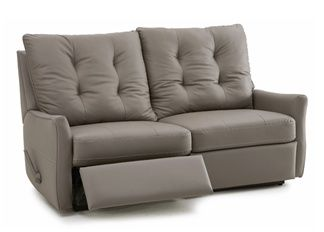 palliser ryan power loveseat recliner with back