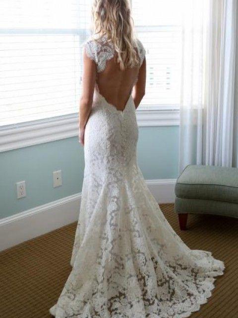 Monique Lhuillier Scarlet Size 6 Wedding Dress   Wedding ...