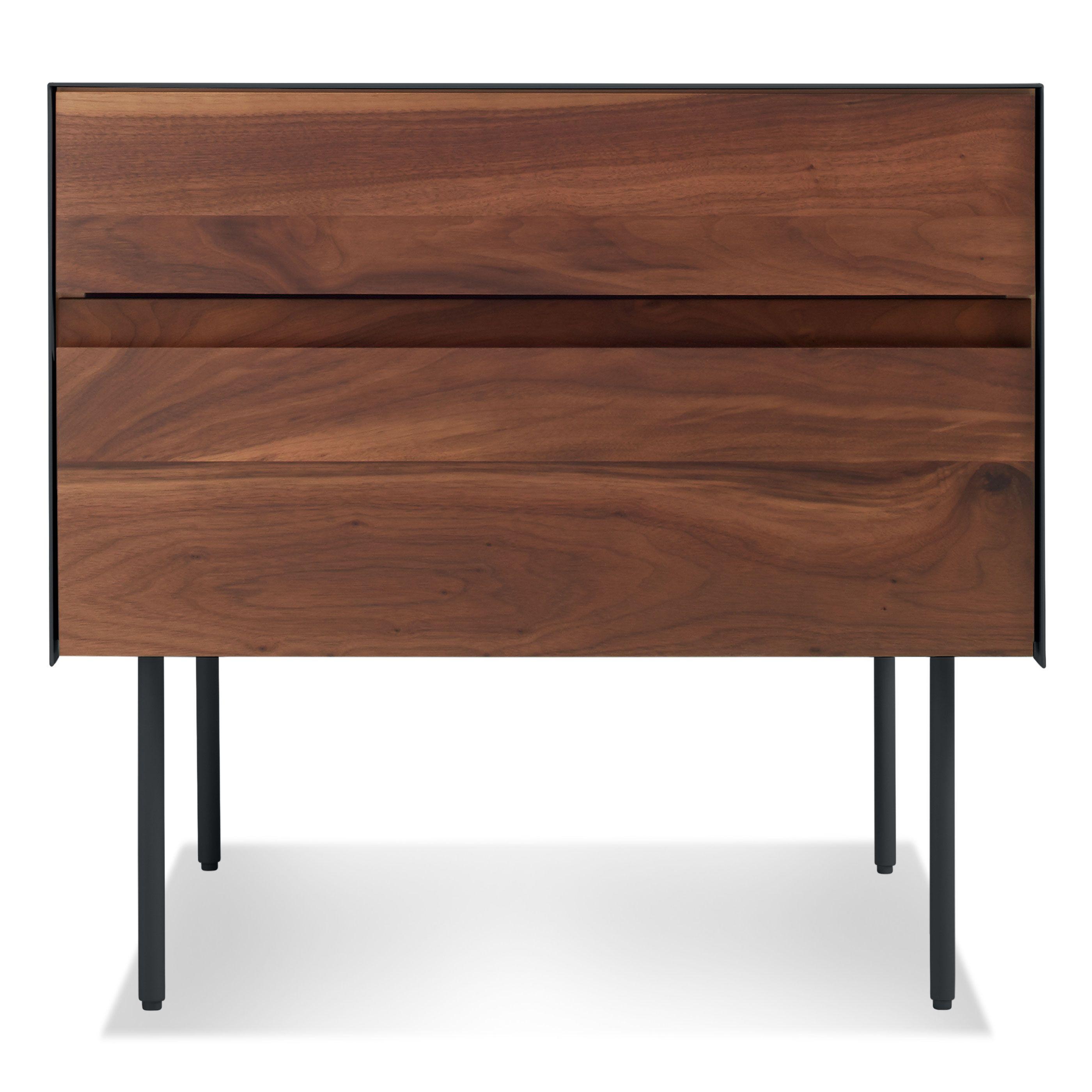 clad nightstand modern bedside table side table blu dot