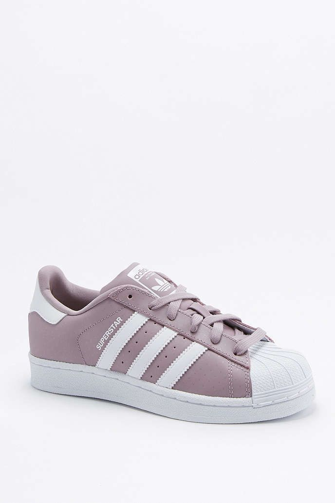 adidas Originals Superstar Mauve Superstar Trainers - Urban ... 41f3e46d67c