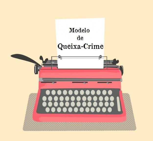 Breves considerações a cerca da queixa-crime, que é a petição inicial da ação penal de iniciativa privada, seguido de um modelo de Queixa-Crime.