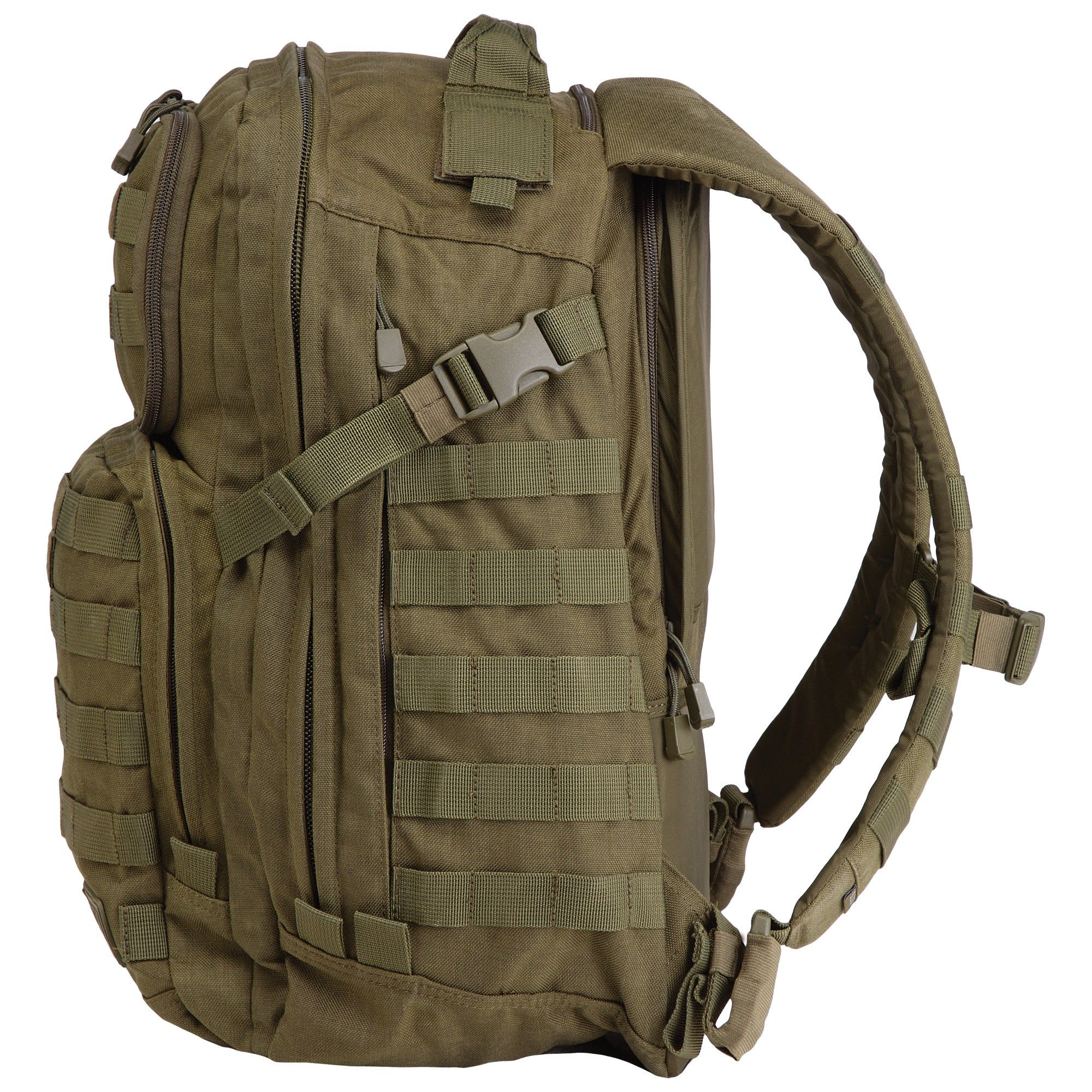 d95f681a2de1f 5.11 Tactical RUSH 24 Tactical Backpack in Military Green