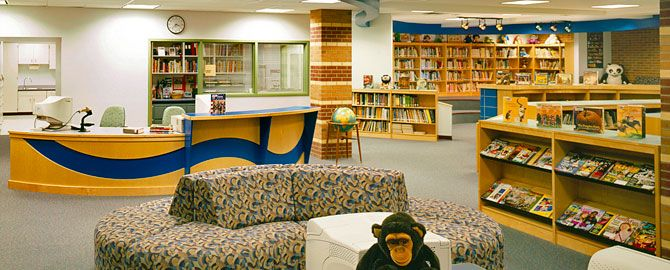 neshannock elementary library part 1: the evolution of the school