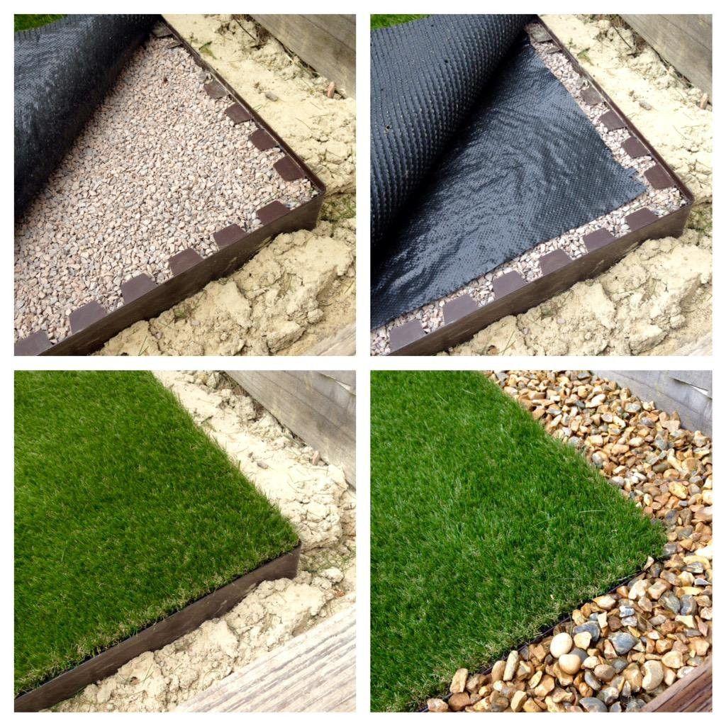 Everedge artificial grass backyard artificial lawn