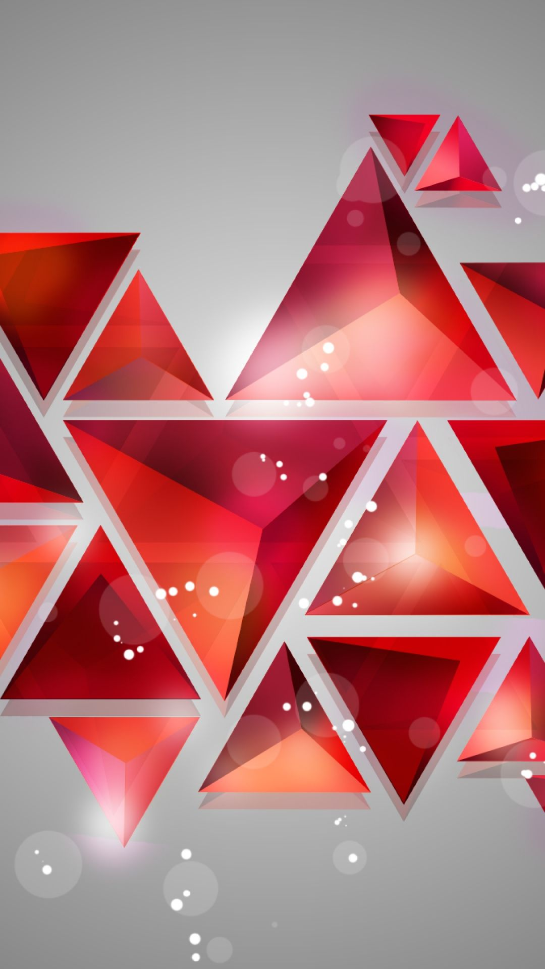 Geometric Shapes Shine. Tap to see more wallpapers