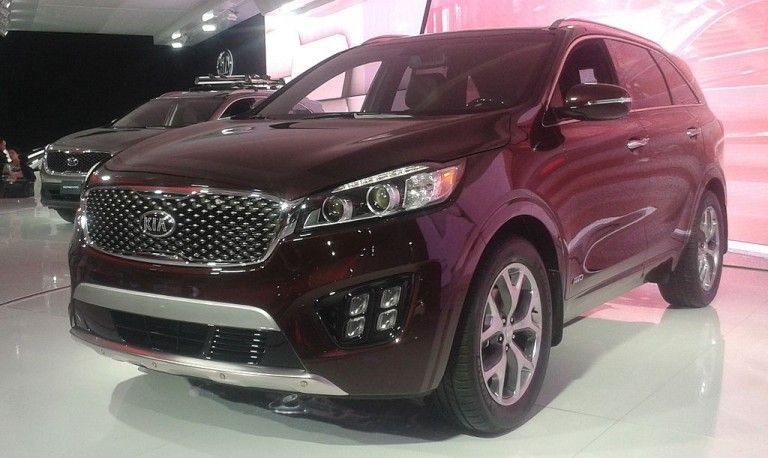 New SUVs For 2016 Kia sorento, Sorento, Car seats