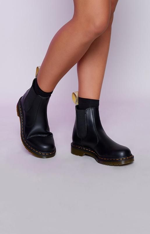 f38280bb931 Dr. Martens 2976 Vegan Chelsea Boot Black | Обувь in 2019 | Chelsea ...