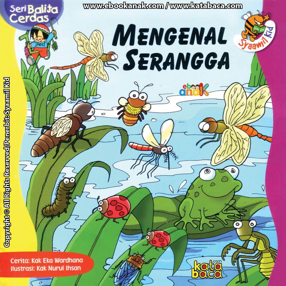 Baca Buku Line Seri Balita Cerdas Mengenal Serangga