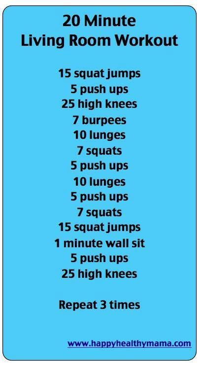 20 minute workout the best thing about this workout is that there