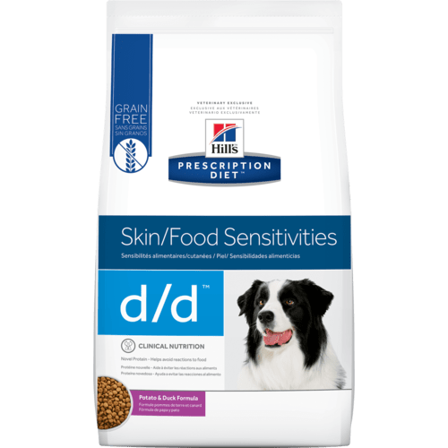 Hill S Prescription Diet D D Canine Skin Support Potato Duck Formula Food Sensitivities Dry Dog Food Skin Food