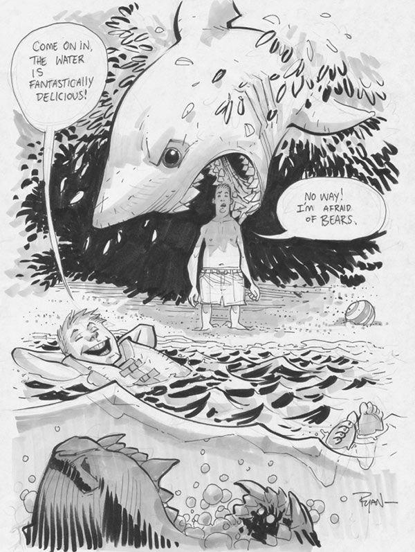 cee89c56 Ryan Ottley's Sea Bear & Grizzly Shark - Bleeding Cool Comic Book .