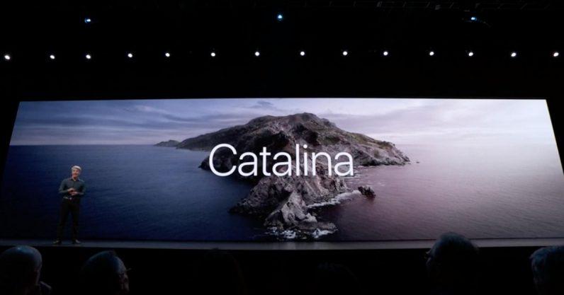 macOS macOS 10.15 Catalina macBook apple ios 13 MacBook