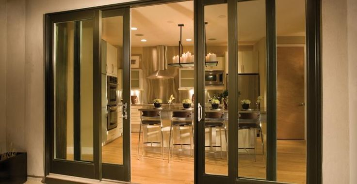 May Be The Best Option For French Door Look With Sliding Glass Door Seal Ultra Series Fiberglas Glass Doors Patio Sliding Doors Exterior French Doors Patio