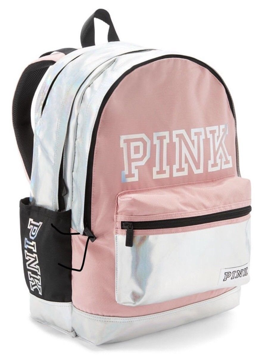 85a59d81087b Victorias Secret Pink Large Backpack- Fenix Toulouse Handball