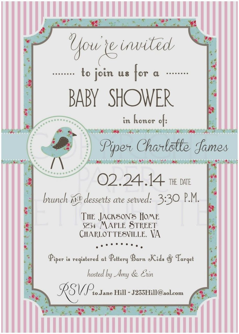 Beautiful Baby Shower Invitation Etiquette When To Send Baby