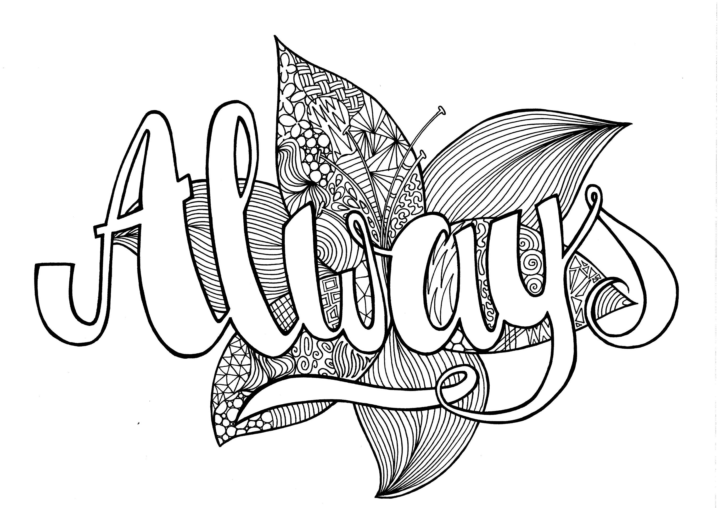 Quotes Harry Potter Coloring Pages Sketch Coloring Page