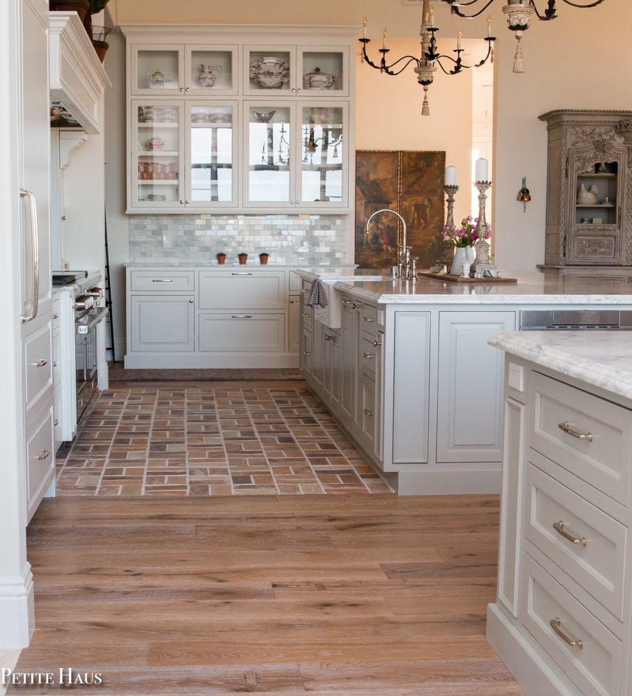 farmhouse kitchen reveal brick floor kitchen farmhouse style kitchen brick flooring on farmhouse kitchen flooring id=59229