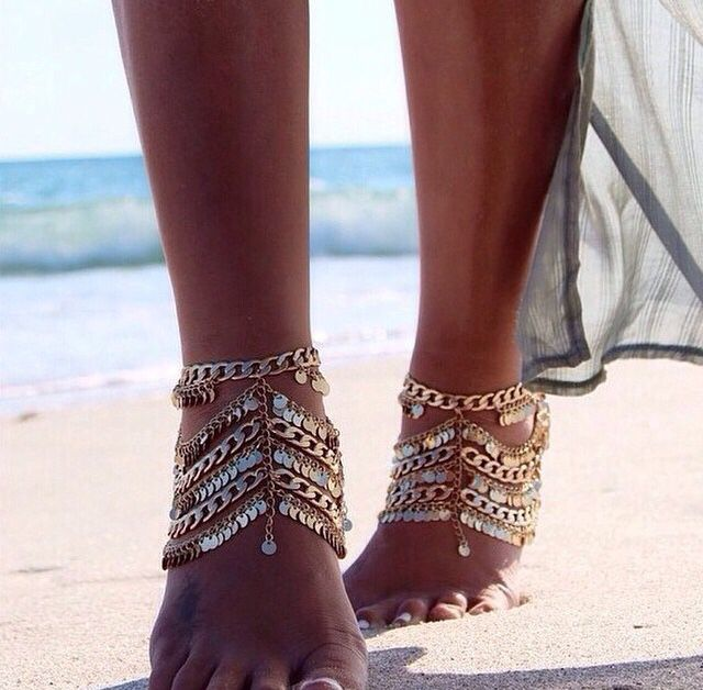 Gorgeous anklets