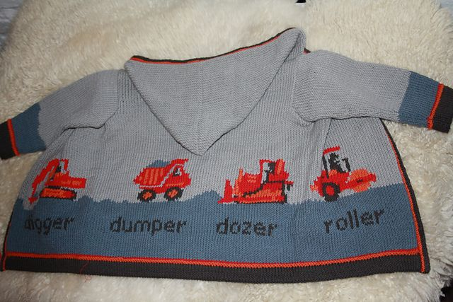 Ravelry: Project Gallery for Digger Jacket pattern by Sam Godden